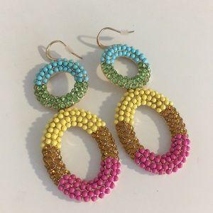 Rainbow baublebar earrings